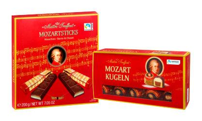 Шоколадови бонбони Моцарт